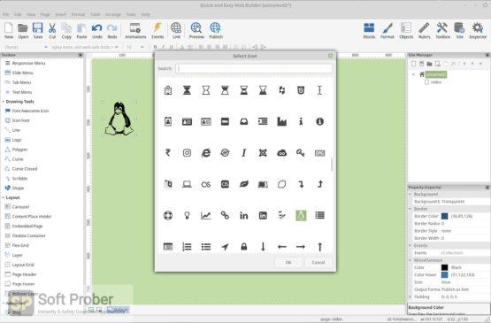Quick 'n Easy Web Builder 2021 Direct Link Download-Softprober.com