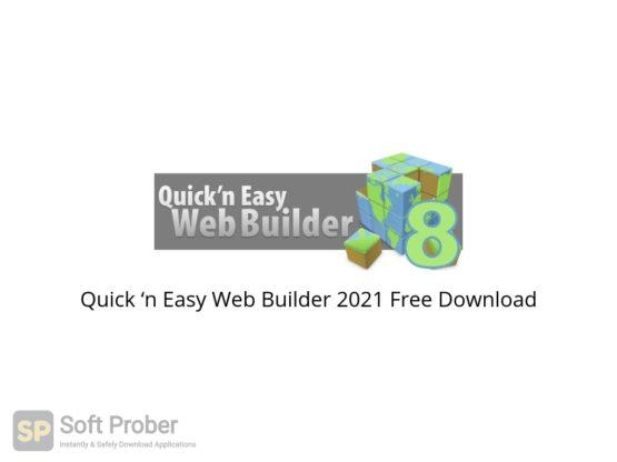 Quick 'n Easy Web Builder 2021 Free Download-Softprober.com