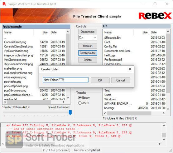 Rebex Total Pack for .NET 2021 Latest Version Download Softprober.com