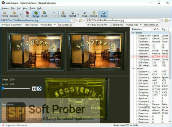 Scooter Beyond Compare 2021 + Portable Offline Installer Download Softprober.com