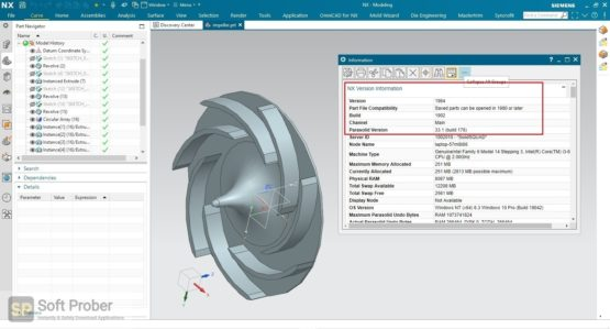 Siemens NX 1984 Latest Version Download-Softprober.com