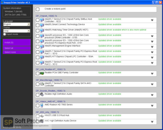 Snappy Driver Installer 2021 Latest Version Download Softprober.com