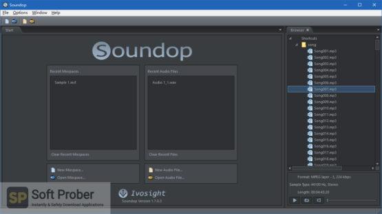 Soundop Audio Editor 2021 Direct Link Download-Softprober.com
