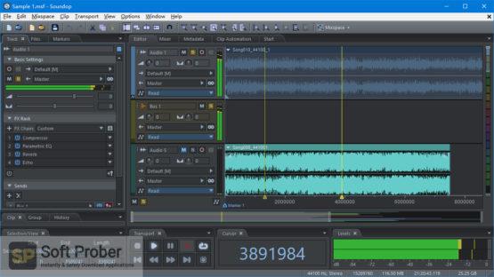 Soundop Audio Editor 2021 Offline Installer Download-Softprober.com