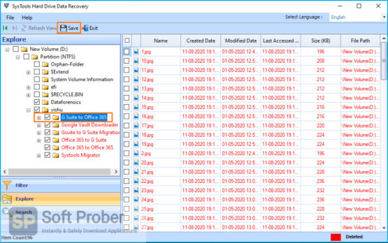 SysTools Hard Drive Data Recovery 2021 Latest Version Download-Softprober.com