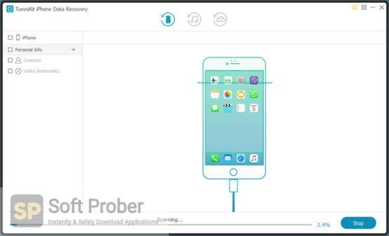 Tuneskit iPhone Data Recovery 2021 Offline Installer Download Softprober.com