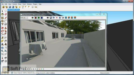 V Ray for SketchUp 2021 Latest Version Download-Softprober.com