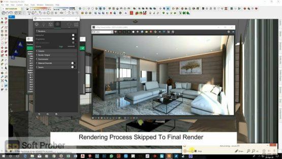 V Ray for SketchUp 2021 Offline Installer Download-Softprober.com