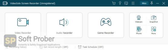 VideoSolo Screen Recorder 2021 Direct Link Download Softprober.com