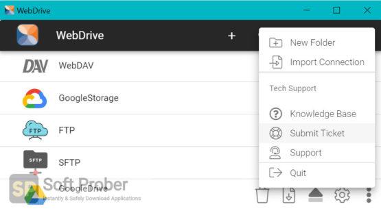 WebDrive 2021 Direct Link Download-Softprober.com