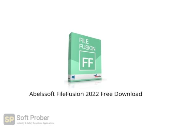 Abelssoft FileFusion 2022 Free Download Softprober.com