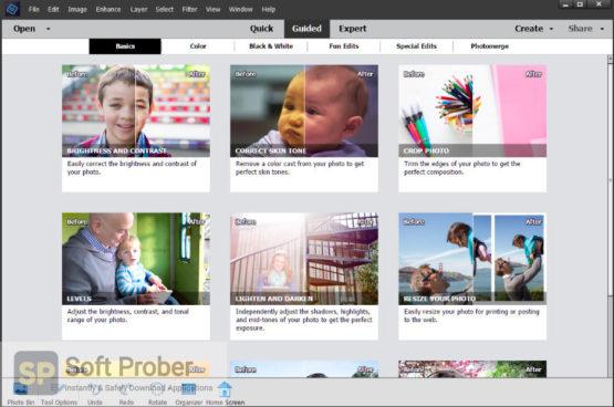 Adobe Photoshop Elements 2022 Offline Installer Download Softprober.com