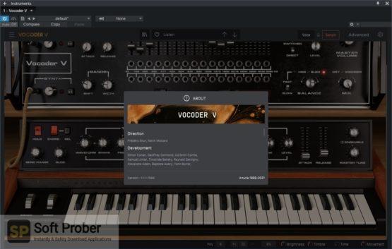 Arturia Vocoder V Offline Installer Download Softprober.com