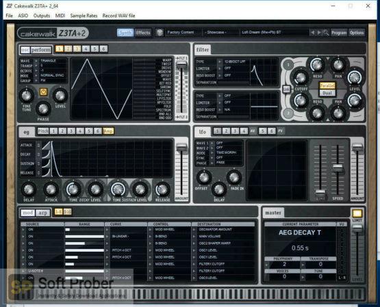 Cakewalk Z3TA Plus 2 Offline Installer Download Softprober.com