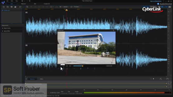 CyberLink AudioDirector Ultra 2021 Latest Version Download Softprober.com