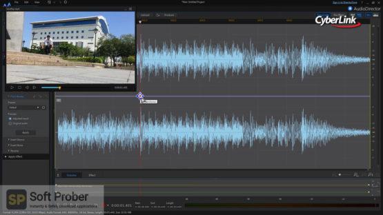 CyberLink AudioDirector Ultra 2021 Offline Installer Download Softprober.com