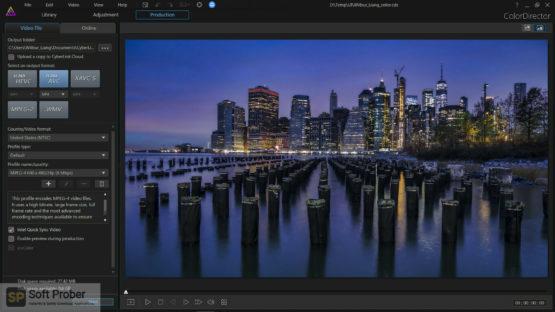 CyberLink ColorDirector Ultra 2021 Latest Version Download Softprober.com
