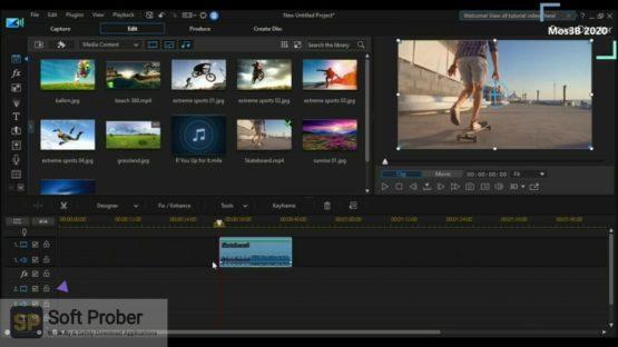 CyberLink PowerDirector Ultimate 2021 Offline Installer Download Softprober.com