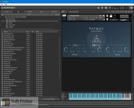 Dark Intervals Patmos (KONTAKT) Latest Version Download Softprober.com