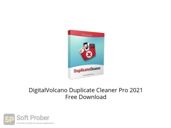 DigitalVolcano Duplicate Cleaner Pro 2021 Free Download Softprober.com