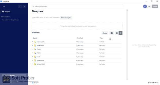 Dropbox 2021 Latest Version Download Softprober.com