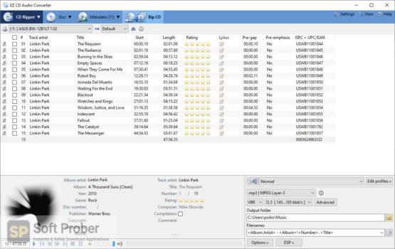EZ CD Audio Converter 2021 Latest Version Download Softprober.com