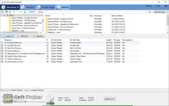 EZ CD Audio Converter 2021 Offline Installer Download Softprober.com