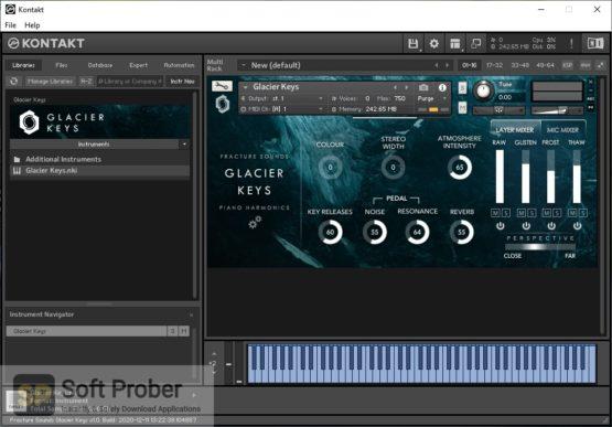 Fracture Sounds Glacier Keys: Cinematic Piano Harmonics Latest Version Download Softprober.com