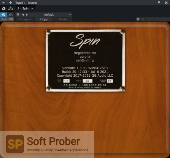 GG Audio Spin Offline Installer Download Softprober.com