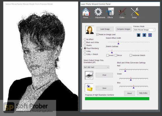 Laser Photo Wizard Professional 2021 Offline Installer Download Softprober.com