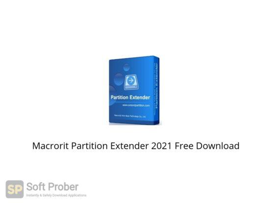 Macrorit Partition Extender 2021 Free Download Softprober.com