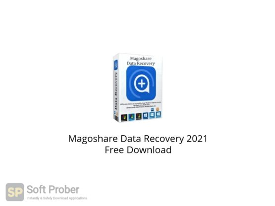 Magoshare Data Recovery 2021 Free Download Softprober.com