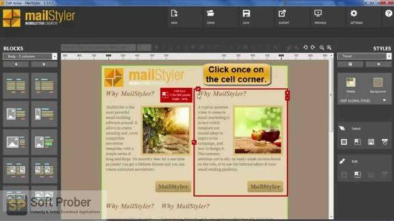 MailStyler Newsletter Creator Pro 2021 Offline Installer Download Softprober.com