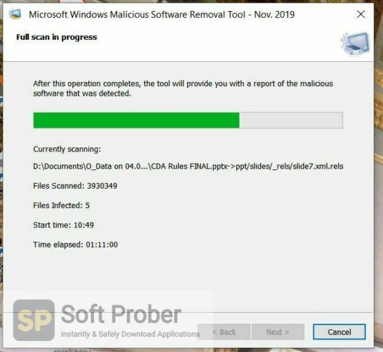 Microsoft Malicious Software Removal Tool 2021 Direct Link Download Softprober.com