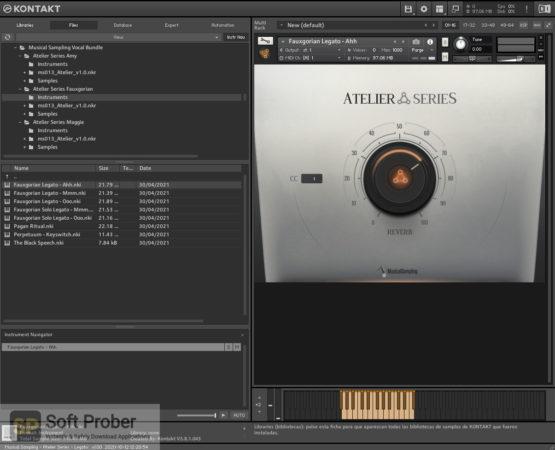 Musical Sampling Vocal Bundle (KONTAKT) Latest Version Download Softprober.com
