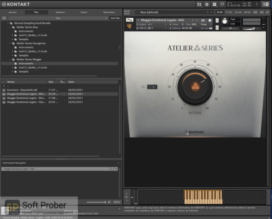 Musical Sampling Vocal Bundle (KONTAKT) Offline Installer Download Softprober.com