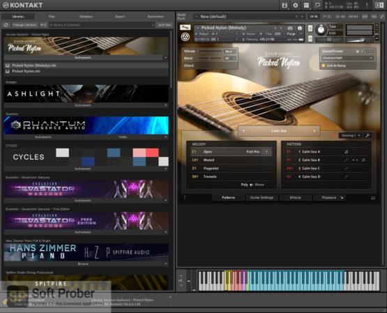 Native Instruments Session Guitarist Picked Nylon Offline Installer Download Softprober.com