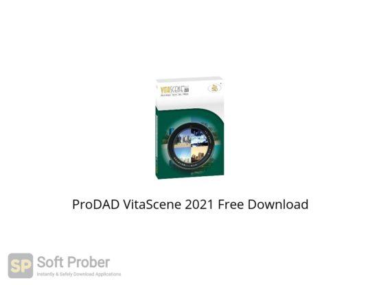ProDAD VitaScene 2021 Free Download Softprober.com