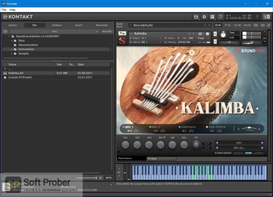 Soundiron Kalimba 3.0 (KONTAKT) Direct Link Download Softprober.com