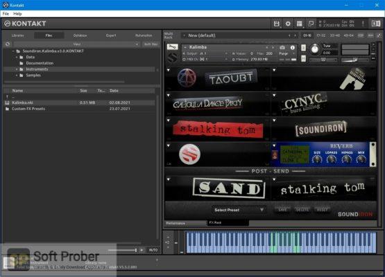 Soundiron Kalimba 3.0 (KONTAKT) Latest Version Download Softprober.com