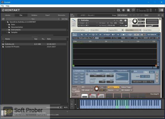 Soundiron Kalimba 3.0 (KONTAKT) Offline Installer Download Softprober.com