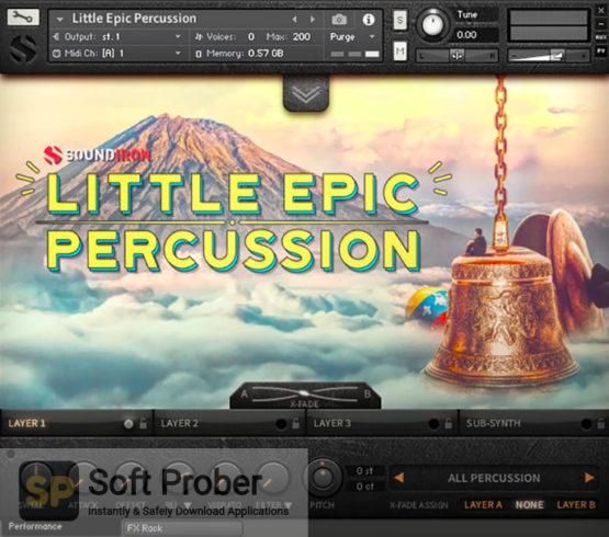 Soundiron Little Epic Percussion Latest Version Download Softprober.com