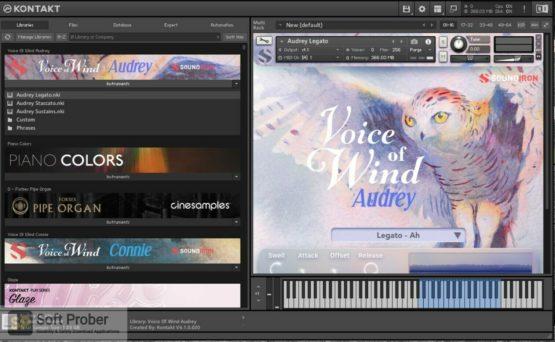 Soundiron Voice of Wind: Audrey Offline Installer Download Softprober.com