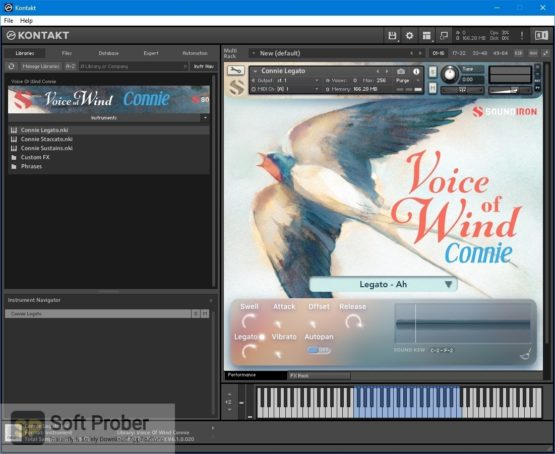 Soundiron Voice of Wind: Connie Direct Link Download Softprober.com