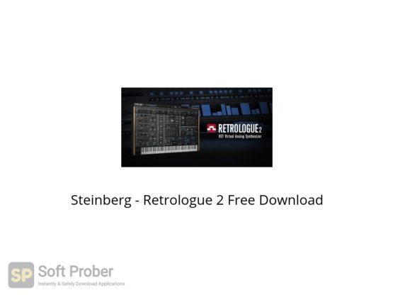 Steinberg Retrologue 2 Free Download Softprober.com