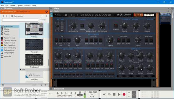 Synapse Audio Obsession Reason RE Offline Installer Download Softprober.com