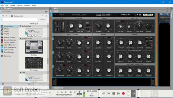 Synapse Audio The Legend Offline Installer Download Softprober.com
