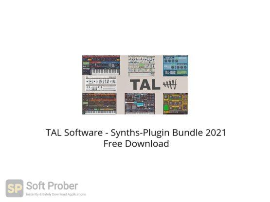 TAL Software Synths Plugin Bundle 2021 Free Download Softprober.com