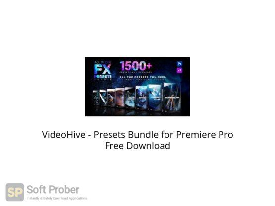 VideoHive Presets Bundle for Premiere Pro Free Download Softprober.com