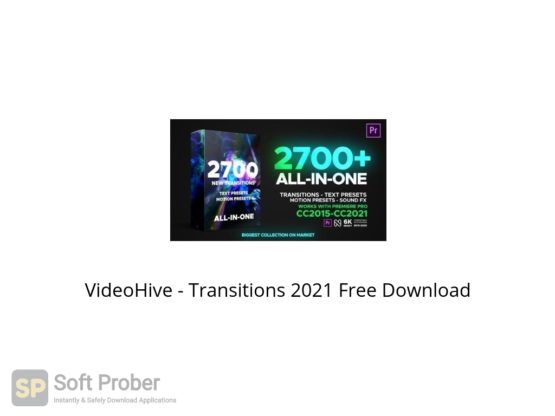 VideoHive Transitions 2021 Free Download Softprober.com